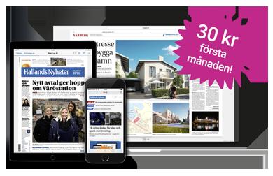 Prenumerera på eHP - Hallandsposten i digitalt format.