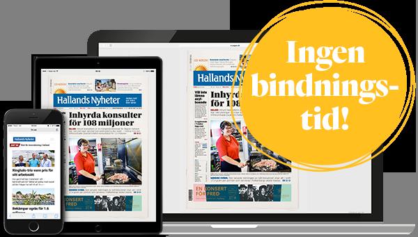 Prenumerera på Hallands Nyheter